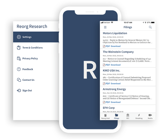 Reorg-Research