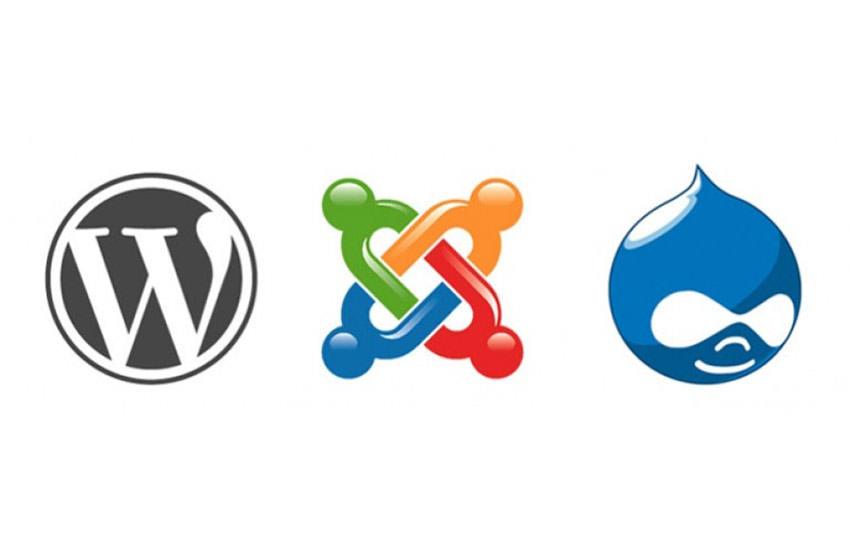 Wordpress Joomla Drupal