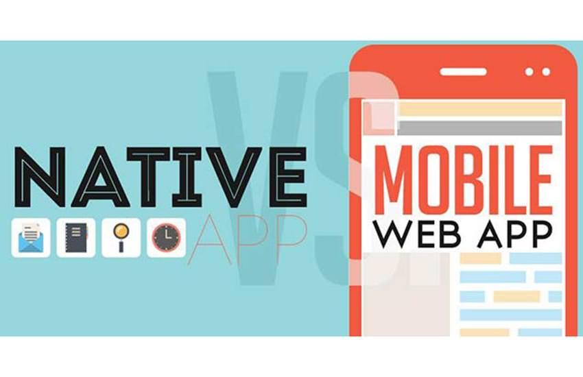 Native App Mobile Web App