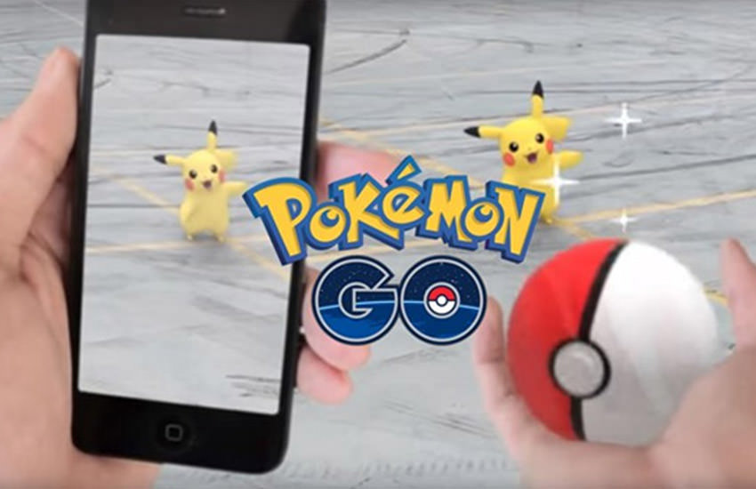 Pokemon go Content Marketing