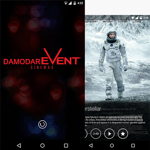 Movie and Event Booking Mobile App