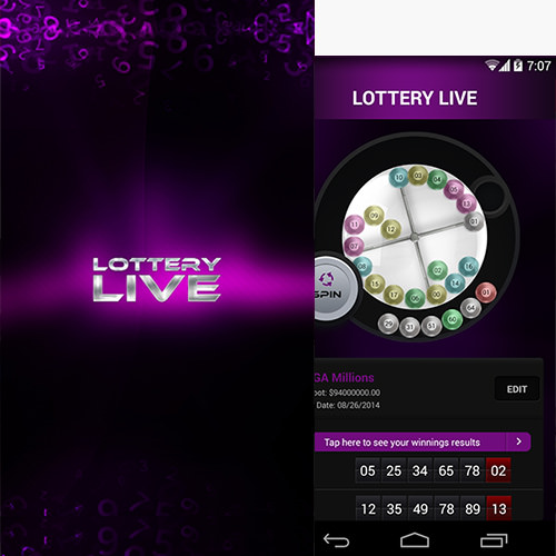 Lottery Results Mobile App