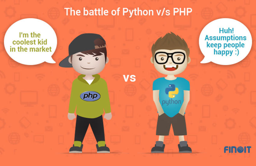 The battle of Python v/s PHP – What's better for your web