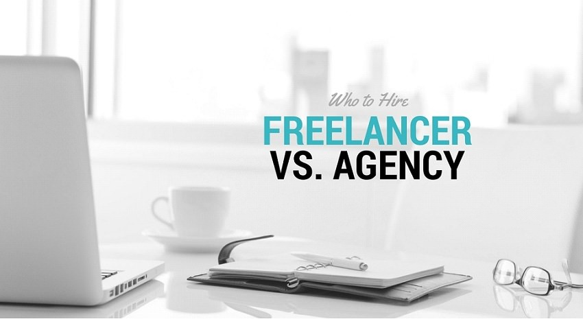 agency vs freelancer - Should You Hire a Freelancer or an Agency - Individual Freelancer vs Agency - Pros And Cons Of A Marketing Agency VS. Freelancer - Freelancer vs Agency - What's the difference between freelancers and agencies?