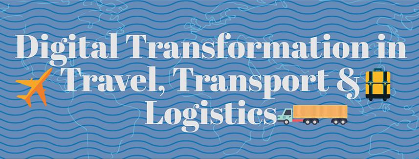 Travel transport logistics inforgraphic