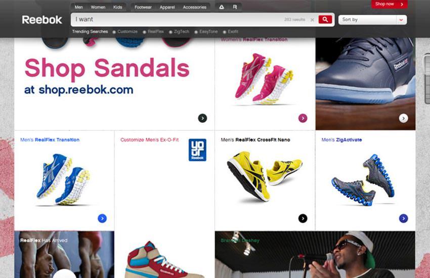 Reebok e-Commerce