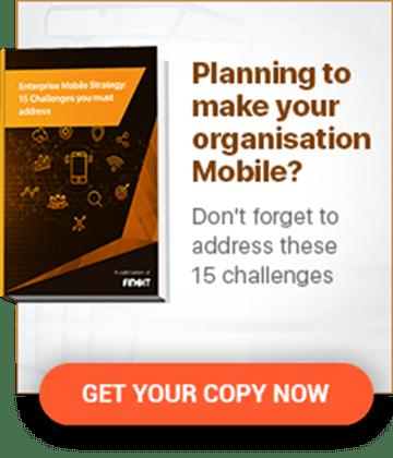Mobile app for organisation
